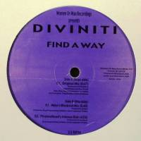 DIVINITI - Find A Way : WOMEN ON WAX (US)