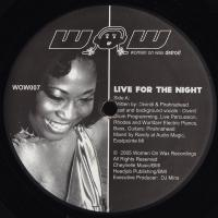 DIVINITI & PIRAHNAHEAD - Live For The Nights : 12inch