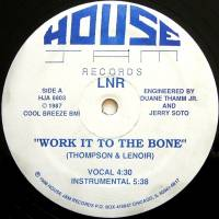 LNR - Work It To The Bone : 12inch