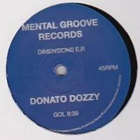 DONATO DOZZY - Dimension E.P. : 12inch
