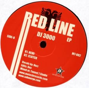 DJ 3000 - Red Line EP : MOTECH (US)