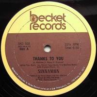 SINNAMON - Thank To You : 12inch