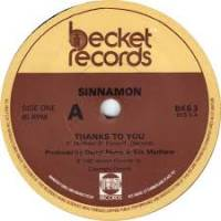 SINNAMON - Thanks To You : 12inch