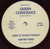 WAYNE FORD - Dance To The Beat Freak Out : 12inch