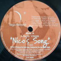 LOUIE VEGA - Nico's Song / Africa/Brasil : 12inch