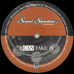 THEO PARRISH - I Can Take It : 12inch