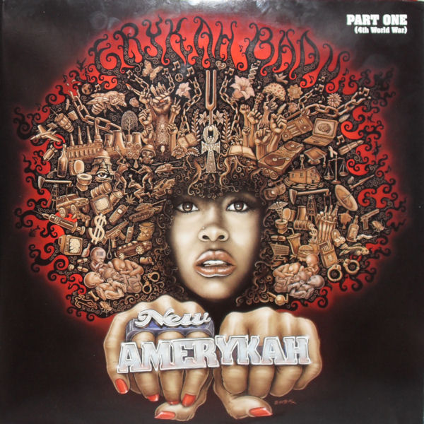 ERYKAH BADU - New Amerykah : Part One ( 4th World War ) : 2LP