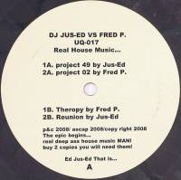 DJ JUS-ED VS FRED P. - Real House Music… : 12inch