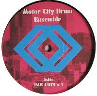 MOTOR CITY DRUM ENSEMBLE - Raw Cuts #1/#2 : 12inch