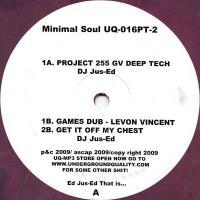 VARIOUS - Minimal Soul Part 2 : 12inch