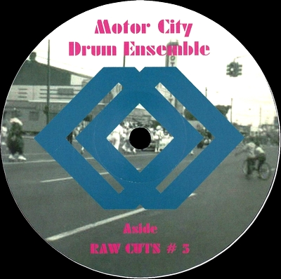 MOTOR CITY DRUM ENSEMBLE - Raw Cuts #5/#6 : 12inch