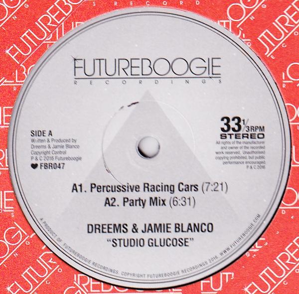 DREEMS & JAMIE BLANCO - Studio Glucose, Moscoman Remix : 12inch