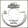 DENNIS BROWN - It's Too Late / Version : 7inch