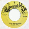 FREDDIE McKAY / MELODIANS - Love Is A Treasure / I Will Get A Long : 7inch