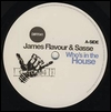 JAMES FLAVOUR & SASSE - Who\'s In The House : 12inch