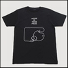 TOMOO GOKITA (五木田智央) - The Sawyers / Home In Your Pack  T-shirts Black Size L : T-SHIRT