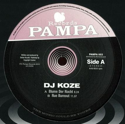 DJ KOZE - Blume Der Nacht : 12inch