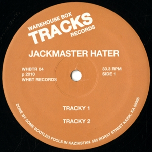 JACKMASTER HATER - 4 : 12inch