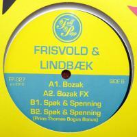 FRISVOLD & LINDBAEK - Bozak : 12inch