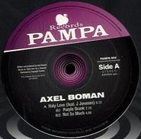 AXEL BOMAN - Holy Love : 12inch