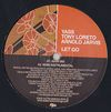 YASS, TONY LORETO, ARNOLD JARVIS - Let Go : 12inch