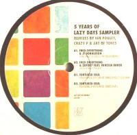 VARIOUS - 5 Years Of Lazy Days Sampler 1 : 12inch