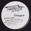JUSTIN VELOR & BLACK LODGE - Super Disco Drums : BRUTAL MUSIC (UK)