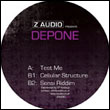 DEPONE - Test Me : 12inch