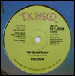 FREEDOM - Get Up and Dance : 12inch