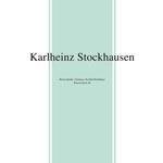 KARLHEINZ STOCKHAUSEN - Beton-Studie / Zeitmass fur funf Holzblaser / Klavierstuck XI : LP