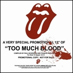 ROLLING STONES - Too Much Blood : 12inch