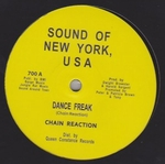 CHAIN REACTION / LITTLE SCOTTY DANCE - Dance Freak / Shout At the Disco : SOUND OF NEW YORK (UK)