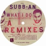 SUBB-AN - What I Do Remixes : 12inch