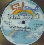 LOLEATTA HOLLOWAY / FIRST CHOICE - Love Sensation / Love & Happiness : 12inch
