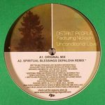 DISTANT PEOPLE FEATURING NICKSON - Unconditional Love : SEASONS LIMITED (US)