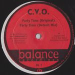 C.V.O. - Party Time : 12inch