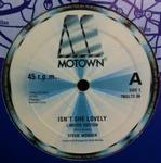 STEVIE WONDER - Isn\'t She Lovely / Master Blaster(Jammin\') : MOTOWN (UK)