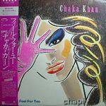 CHAKA KHAN - I Feel For You : WARNER (JPN)