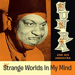 SUN RA AND HIS ARKESTRA - Strange Worlds In  My Mind -Space Poetry Volume One- : LP