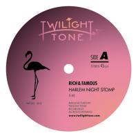 RICH & FAMOUS AKA DEAVID SOUL - Harlem Night Stomp / Gold Rush Rag : TWILIGHT TONE (JPN)