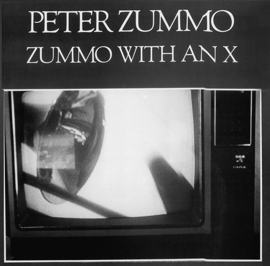 peter zummo zummo with an x lp newtone records