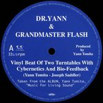 DR.YANN & GRANDMASTER FLASH - Vinyl Beat Of Two Turntables With Cybernetics And Bio-Feedback : 12inch