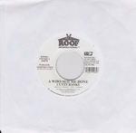 CUTTY RANKS - A Who Seh Me Dun/ BAM BAM Insuturmental : 7inch