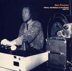 DON PRESTON - Filters, Oscillators & Envelopes 1967-75 : LP