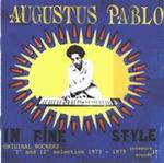 AUGUSTUS PABLO - In Fine Style : 2LP