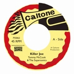 TOMMY McCOOK & THE SUPERSONICS /ALVA LEWIS - Killer Joe / Return Home : 7inch