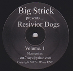 BIG STRICK / etc... - Resivior Dogs Vol. 1 : 12inch