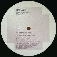 TRIUMPH FEAT. VALLDENEU - Discover (Jimmy Edgar Remix) : 12inch