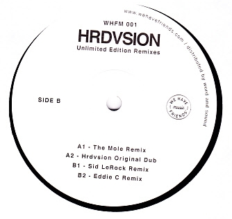 HRDVSION - Unlimited Edition Remixes : 12inch
