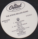 THE STEVE MILLER BAND - Live Like An Eagle/Macho City : 12inch